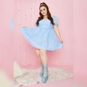 HER COMPLICATED COURTSHIP BABYDOLL DRESS